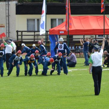 Wojewódzkie zawody sportowo – pożarnicze dla MDP