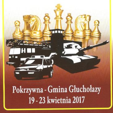 XVI Indywidualne Szachowe Mistrzostwa Polski Służb Mundurowych w Szachach, Pokrzywna 19-23.04.2017 r.