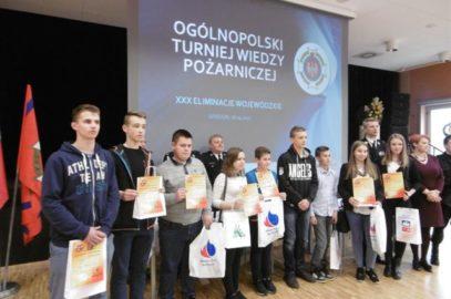 """XXX Wojewódzkie Eliminacje Turnieju """"Młodzież Zapobiega Pożarom"""""""