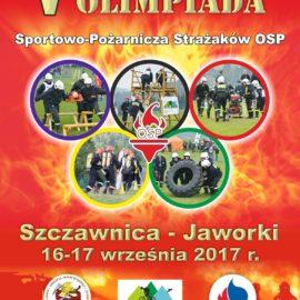 V Ogólnopolska Olimpiada Strażaków OSP 2017