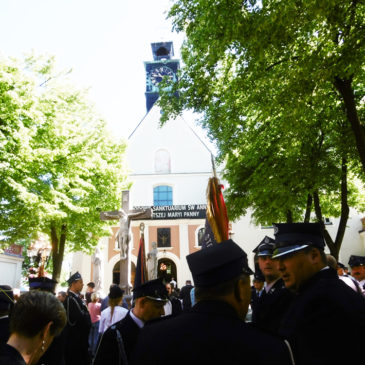 XXII Pielgrzymka Strażaków Województwa Opolskiego i Śląskiego na Górę Świętej Anny