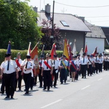 Delegacja OSP Strzelce Opolskie gościła w miejscowości Chlebičov koło Opawy na uroczystościach 90 lat SDH Chlebičov