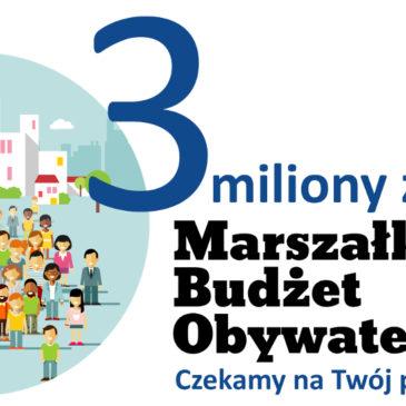 3 edycja Marszałkowskiego Budżetu Obywatelskiego