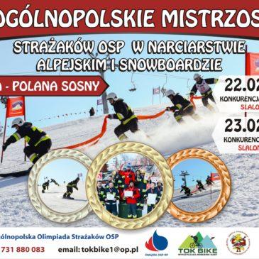 Ruszyły strażackie zapisy na mistrzostwa kraju w narciarstwie i snowboardzie.