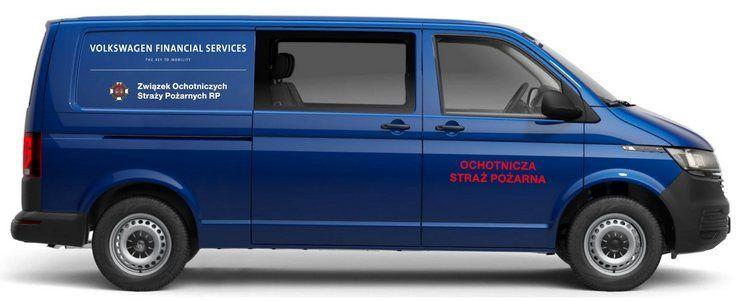 Volkswagen Transporter trafił już do OSP ZALESIE ŚLĄSKIE