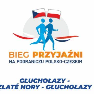 Bieg Przyjaźni na pograniczu polsko-czeskim.